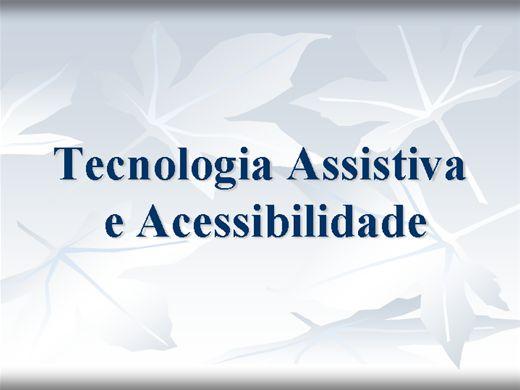 Curso Online de FORMAÇÃO EM EDUCAÇÃO INCLUSIVA E TECNOLOGIA ASSISTIVA: PROMOÇÃO PARA A ACESSIBILIDADE
