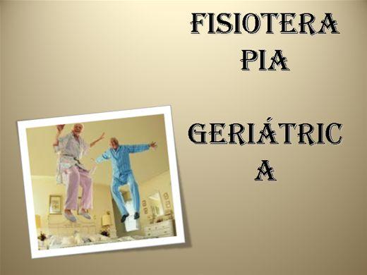 Curso Online de Fisioterapia Geriátrica