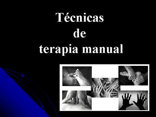 Curso Online de Técnicas de Terapia Manual