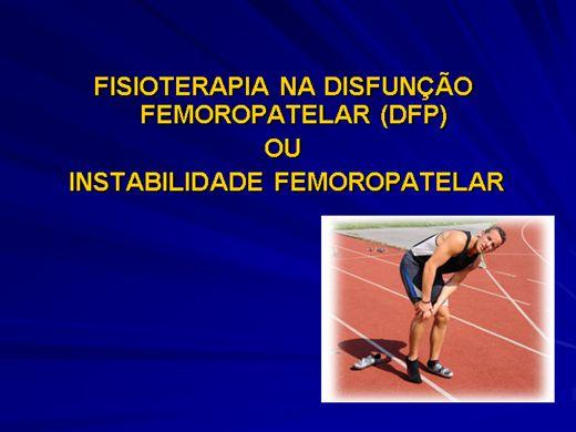 Curso Online de FISIOTERAPIA NA DISFUNÇÃO FEMOROPATELAR (DFP)