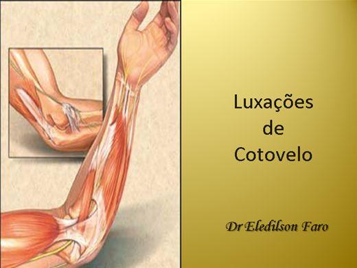 Curso Online de Luxações de Cotovelo