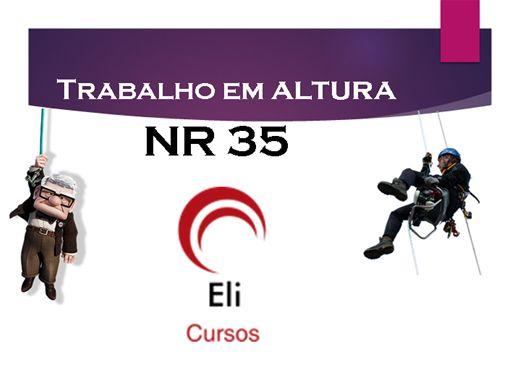 Curso Online de Trabalho em Altura - NR 35