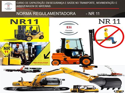 Curso Online de NR - 11 - SEGURANÇA E SAÚDE NO TRANSPORTE, MOVIMENTAÇÃO E ARMAZENAGEM DE MATERIAIS.