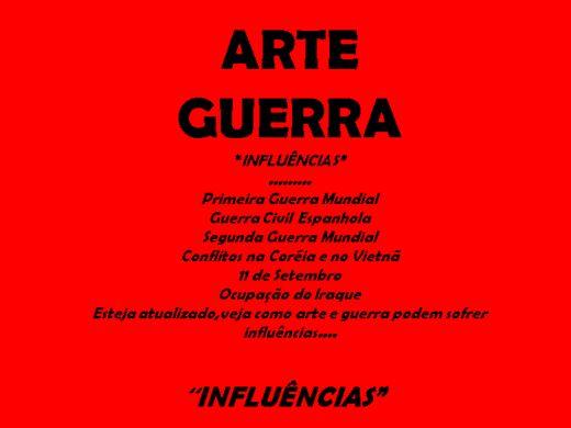 Curso Online de Arte Guerra,reflexões....