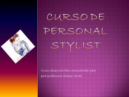 Curso Online de Personal Stylist