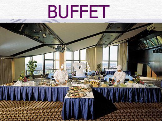 Curso Online de Como organizar um Buffet