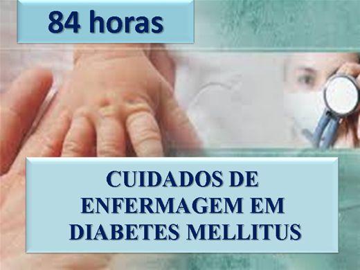 Curso Online de ENFERMAGEM EM DIABETES MELLITUS