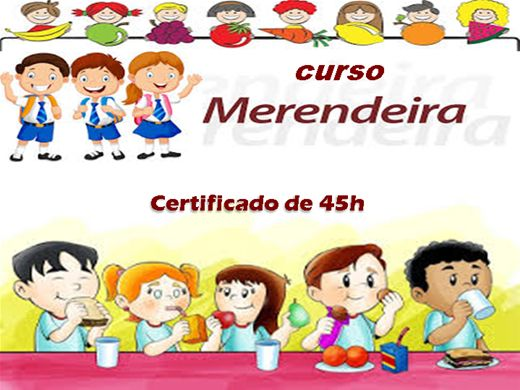 Curso Online de Merendeira Escolar - Cozinheira