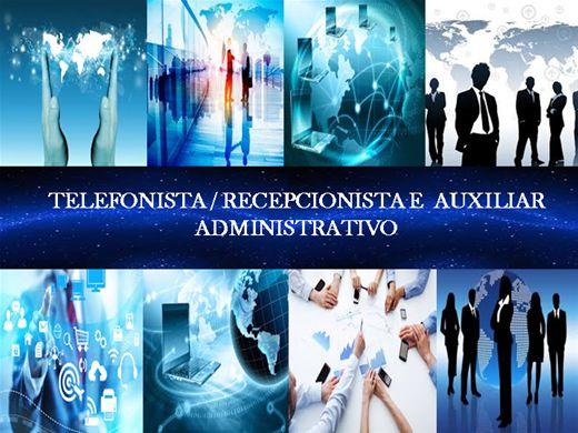 Curso Online de Telefonista / Recepcionista e Auxiliar Administrativo