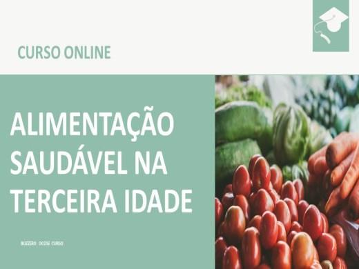 Curso Online de Alimentação Saudável na Terceira Idade