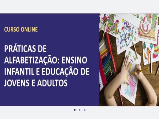 Curso Online de Práticas de Alfabetização: Ensino Infantil e Educação de Jovens e Adultos
