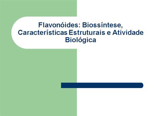 Curso Online de Flavonoides
