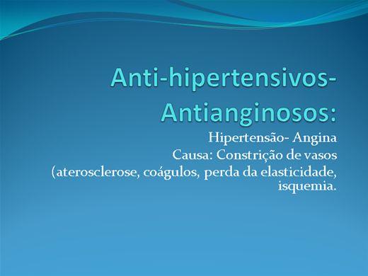 Curso Online de Antihipertensivos