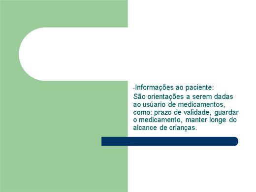 Curso Online de Conhecimentos sobre a Bula de Medicamentos