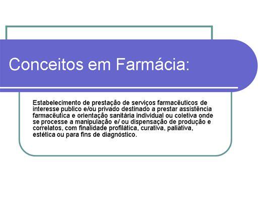 Curso Online de Conceitos em fármacia