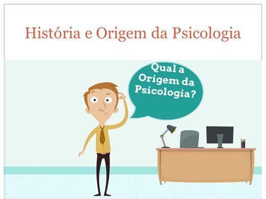 Curso Online de HISTÓRIA E ORIGEM DA PSICOLOGIA COMO CIÊNCIA