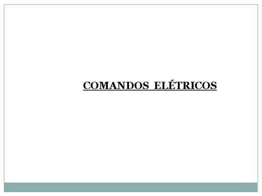 Curso Online de Comandos elétricos Basico