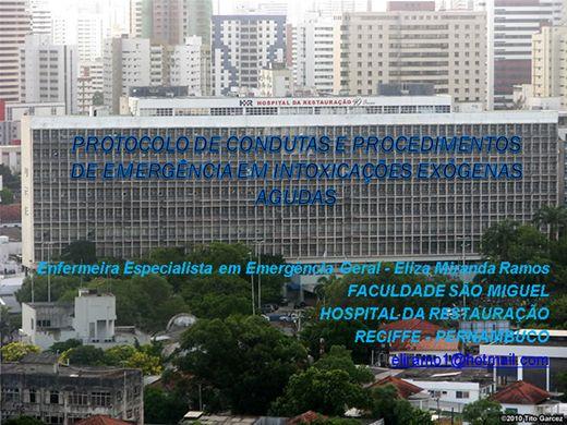 Curso Online de PROTOCOLOS DE ATENDIMENTO DE ENFERMAGEM EM INTOXICAÇÕES EXOGENAS