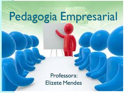 Curso Online de Pedagogia Empresarial