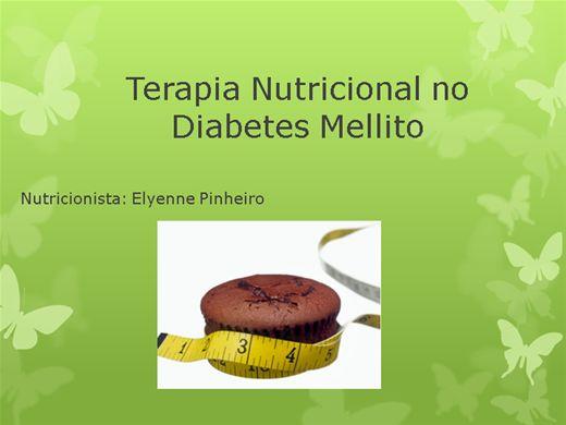 Curso Online de terapia nutricional no diabetes melito