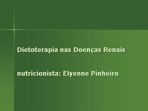 Curso Online de dietoterapia nas doenças renais