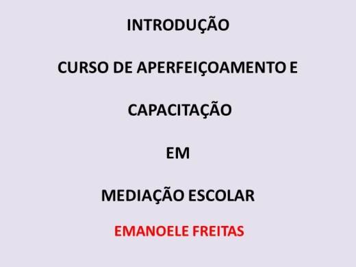 Curso Online de  MEDIADOR ESCOLAR MODULO 1