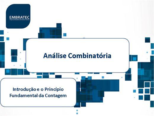 Curso Online de Análise Combinatória
