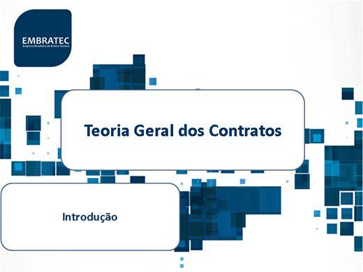Curso Online de Teoria Geral dos Contratos