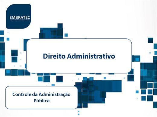 Curso Online de Controle da Administração Pública