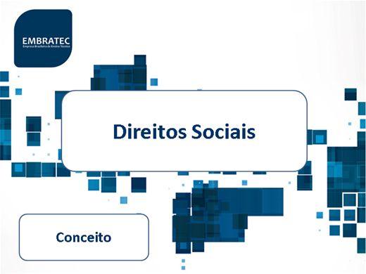 Curso Online de Direitos sociais