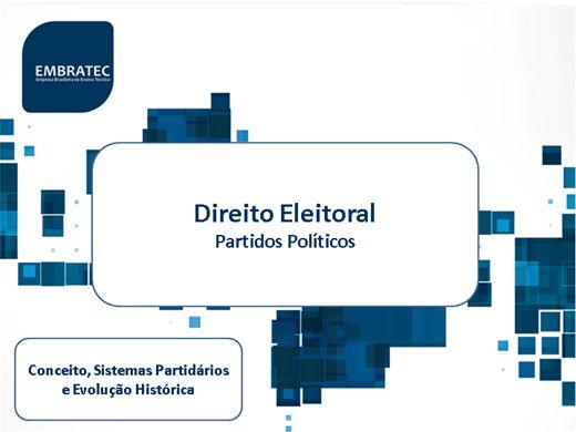 Curso Online de Direito Eleitoral - Partidos Politicos