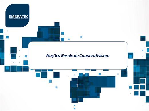 Curso Online de Noções Gerais do Cooperativismo