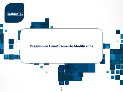 Curso Online de Organismos Geneticamente Modificados
