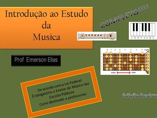 Curso Online de Introdução ao Ensino da Musica (Completo)