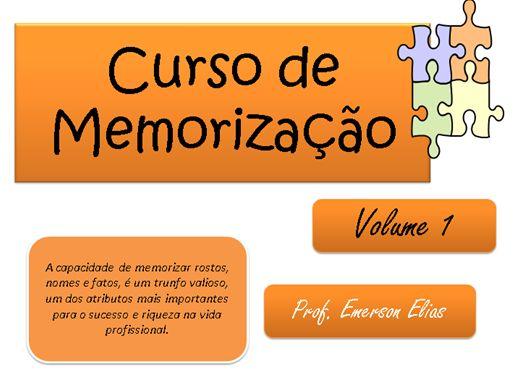 Curso Online de Curso de Memorização Vol 1