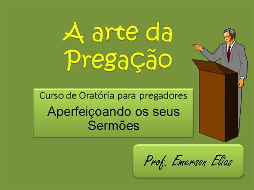 Curso Online de A arte da Pregação – Curso de Oratória para Sermões
