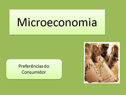 Curso Online de Microeconômia_Aula 2 Preferências do Consumidor