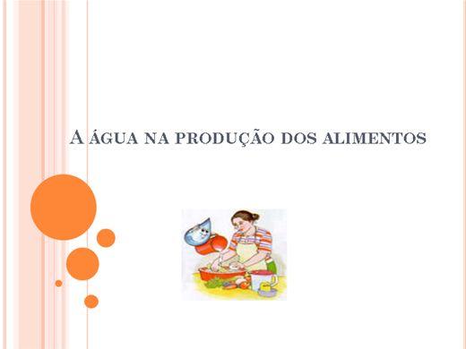 Curso Online de A água na produção de alimentos