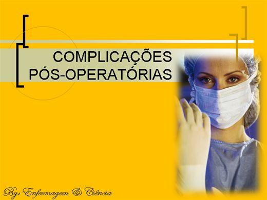 Curso Online de Complicações Pós-Operatórias