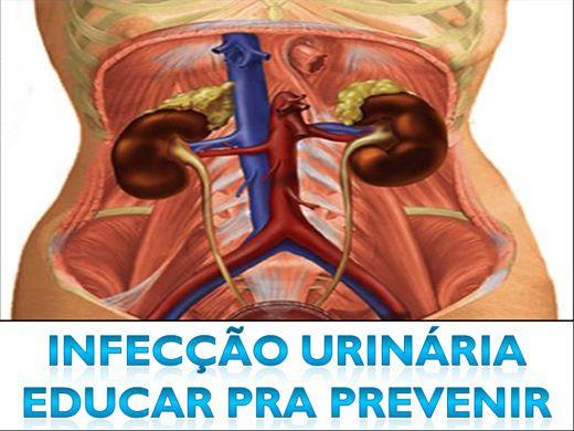 Curso Online de Infecção Urinaria,educar para prevenir.