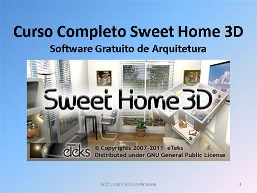 Curso Online de Sweet Home 3D - Curso Completo Detalhado - Software Gratuito