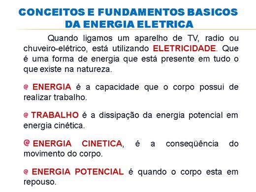 Curso Online de CONCEITOS E FUNDAMENTOS BÁSICOS DA ENERGIA ELÉTRICA