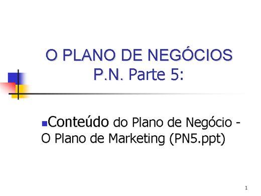 Curso Online de PLANO DE NEGOCIO
