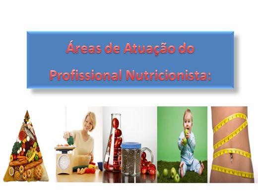 Curso Online de ÁREAS DE ATUAÇÃO DO PROFISSIONAL NUTRICIONISTA