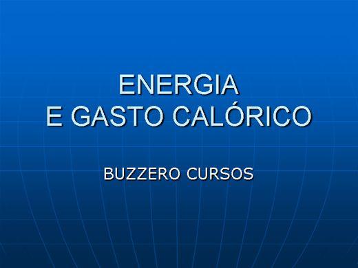 Curso Online de GASTO ENERGÉTICO