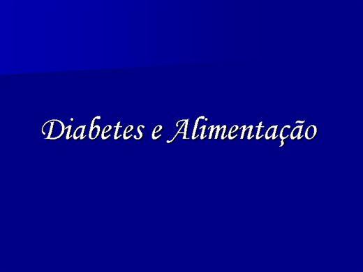 Curso Online de DIABETES X ALIMENTAÇÃO