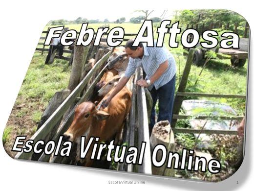 Curso Online de FEBRE AFTOSA
