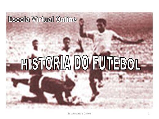 Curso Online de HISTORIA DO FUTEBOL