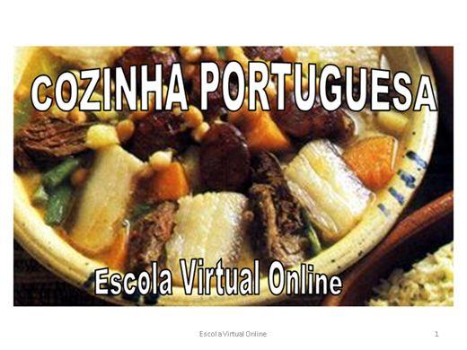 Curso Online de CURSO COZINHA PORTUGUESA