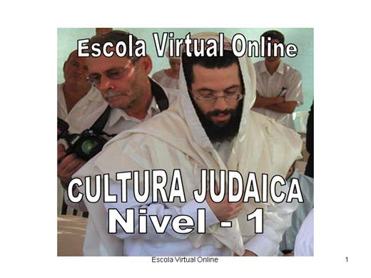 Curso Online de CULTURA JUDAICA - NIVEL 1